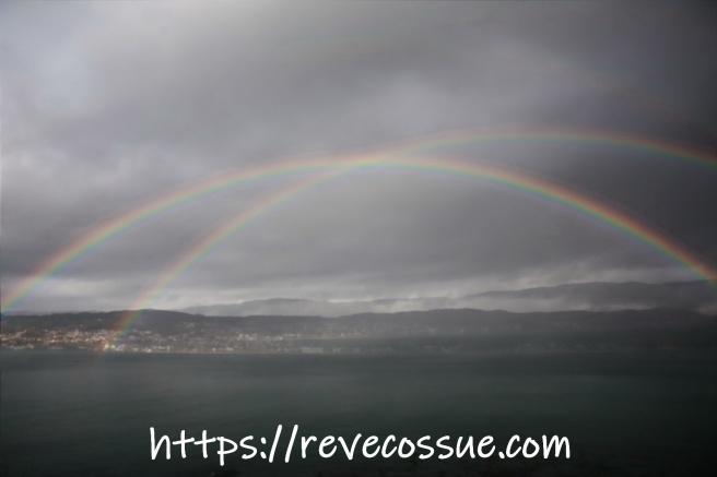 Arco iris doble,  Double Rainbow